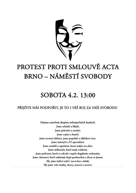 Plakát acta